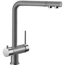 Гранитный кухонный смеситель BLANCO - Fontas - алюметаллик/хром (518504) ID:NL04172