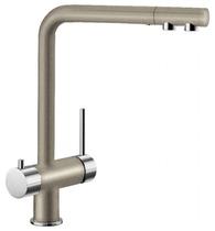 Гранитный кухонный смеситель BLANCO - Fontas II серый беж (523136) ID:NL013326