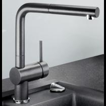 Гранитный кухонный смеситель BLANCO - Linus-S - антрацит (516688) ID:NL013328