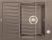 Гранитная кухонная мойка BLANCO - Elon 45S серый беж (520996) ID:NL010683