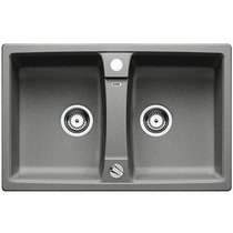Гранитная кухонная мойка BLANCO - Lexa 8 алюметаллик (514693) ID:NL010695