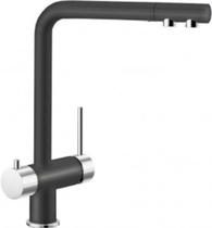 Гранитный кухонный смеситель BLANCO - Fontas - антрацит/хром (518503) ID:NL05243