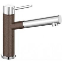 Гранитный кухонный смеситель BLANCO - Alta-S кофе/хром (515334) ID:NL010784