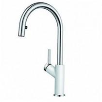Гранитный кухонный смеситель BLANCO - Carena S - белый (520984) ID:NL010792