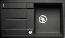 Гранитная кухонная мойка BLANCO - Metra 5 S - антрацит (513044) ID:NL04055