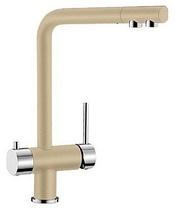 Гранитный кухонный смеситель BLANCO - Fontas - шампань/хром (518508) ID:NL010807