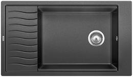 Гранитная кухонная мойка BLANCO - Elon XL 8S алюметаллик (520486) ID:NL010686