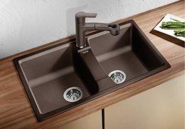 Гранитная кухонная мойка BLANCO - Lexa 8 мускат (521876) ID:NL010698