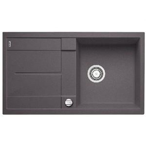 Гранитная кухонная мойка BLANCO - Metra 5 S - темная скала (518871) ID:NL04274