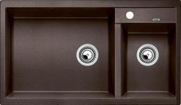 Гранитная кухонная мойка BLANCO - Metra 9 кофе (515050) ID:NL012756
