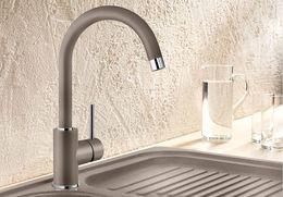 Гранитный кухонный смеситель BLANCO - Mida - мускат (524211) ID:NL010822